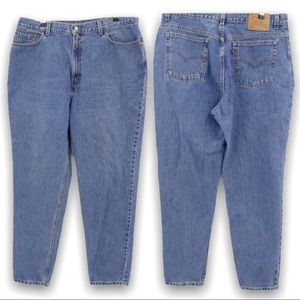 Vintage Levi's 550 Relaxed Fit Tapered Leg Size 20